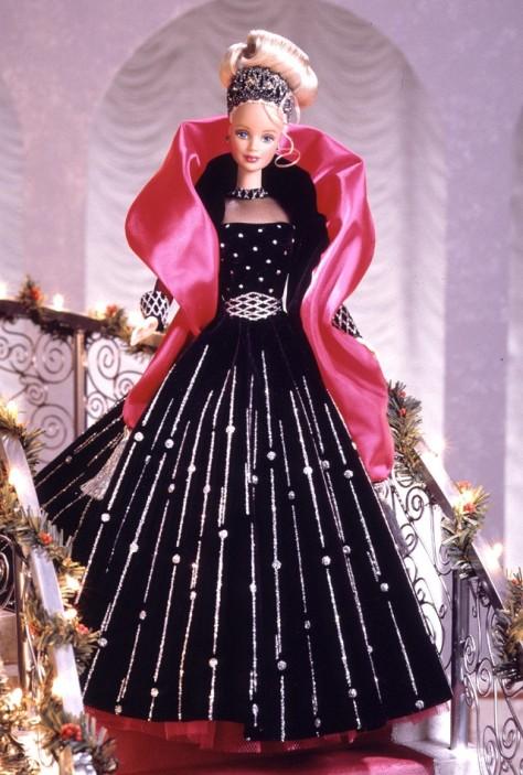 1998 Happy Holidays Barbie Doll