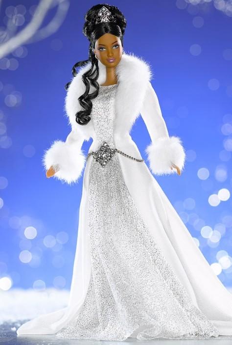Winter Fantasy Barbie Doll (AA)