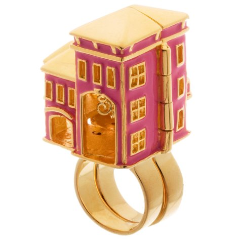 Barbie dream house ring
