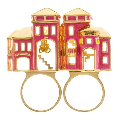 Barbie dream house ring (open)