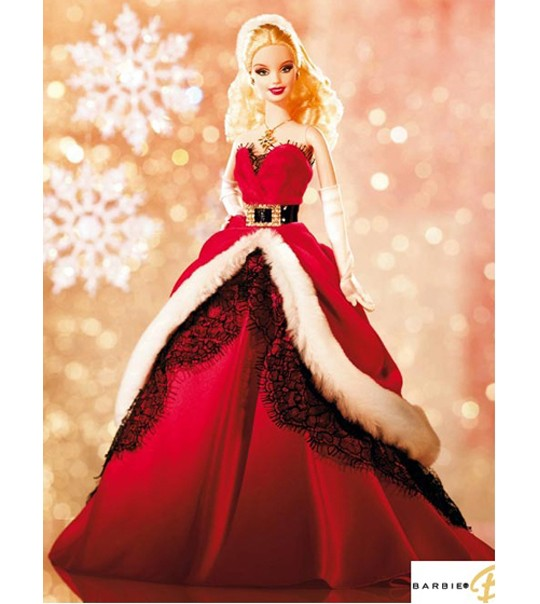 Barbie Christmas Holiday Barbie On Pinterest Happy