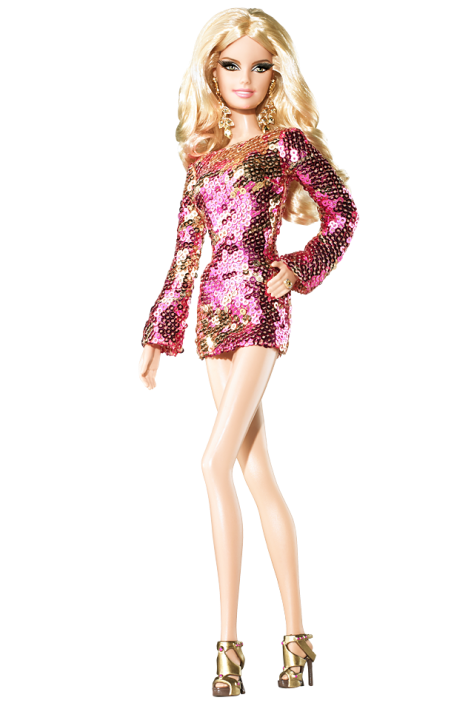 Barbie Doll as Heidi Klum