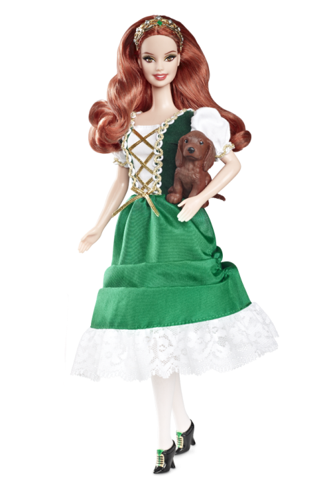 Ireland Barbie Doll