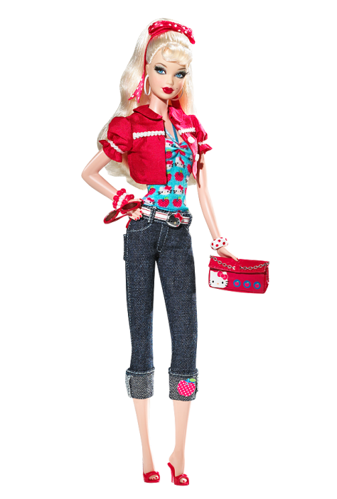 Hello Kitty Barbie Doll (2008)
