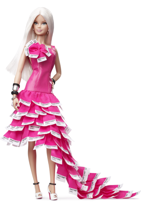 Pink In PANTONE Barbie Doll