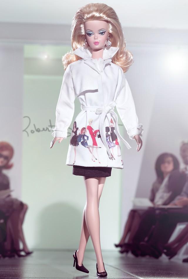 Trench Setter Barbie Doll
