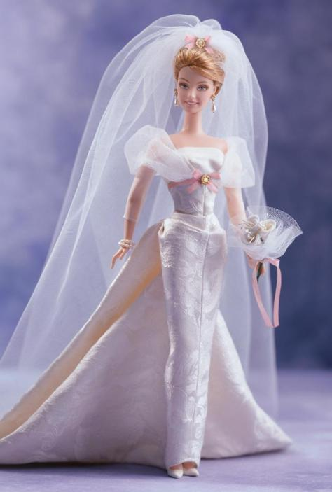 Sophisticated Wedding Barbie Doll