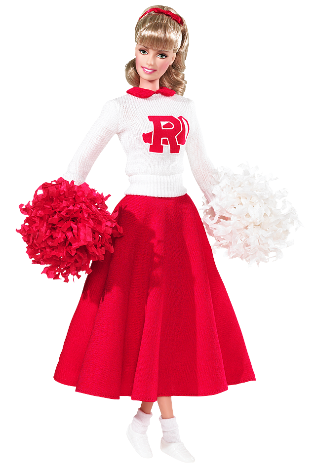 Grease Sandy Barbie Doll (Race Day)