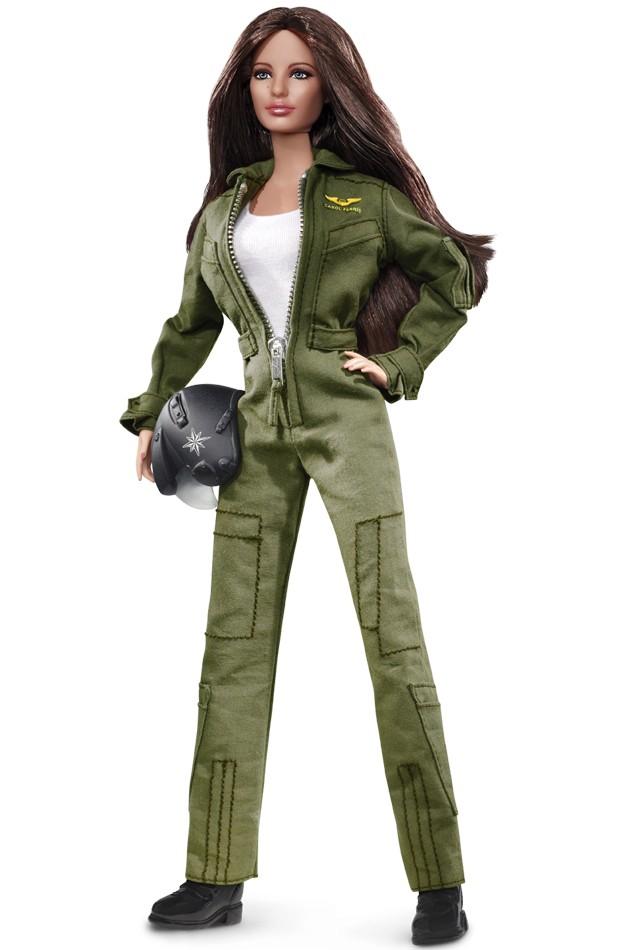 Green Lantern Carol Ferris Barbie Doll
