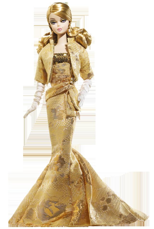 Golden Gala Barbie Doll