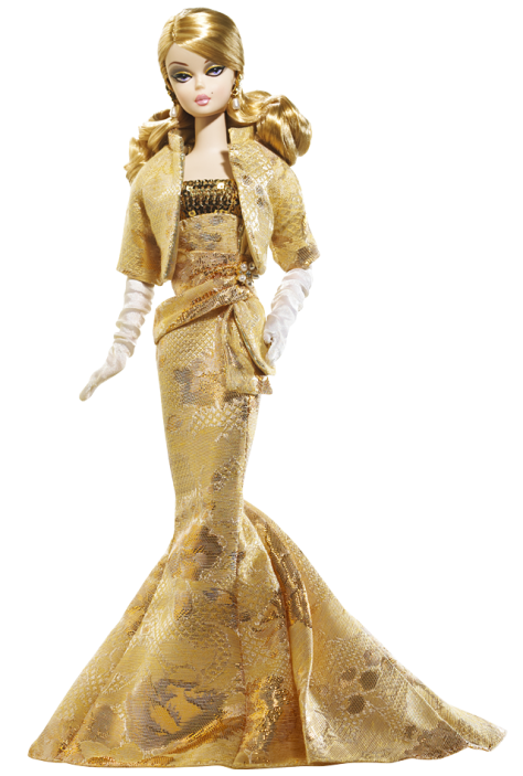 Golden Gala Barbie Doll