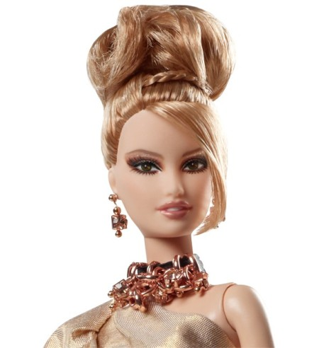Rush of Rose Gold Barbie Doll