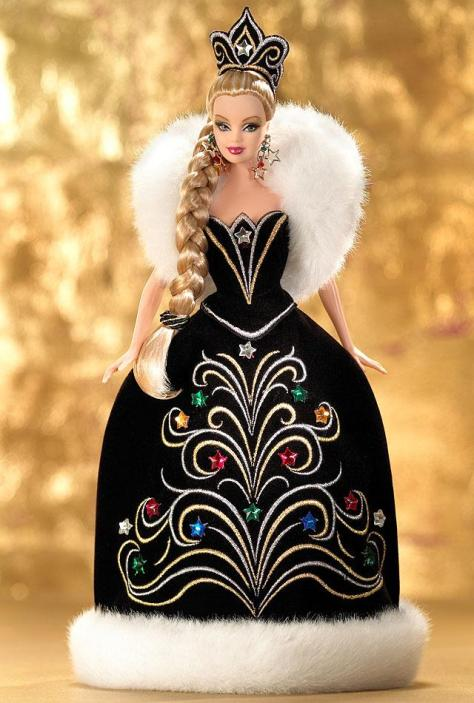 2006 Holiday Barbie Doll by Bob Mackie