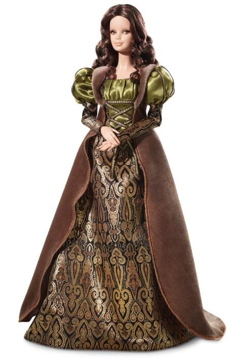 Barbie Doll Inspired by Leonardo da Vinci