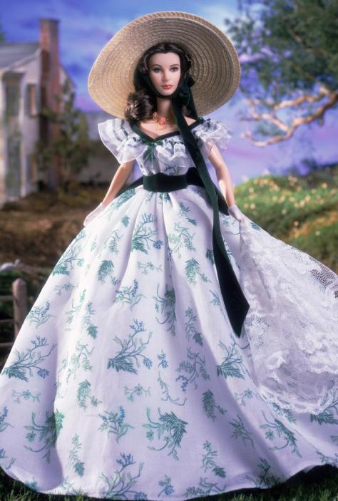 Scarlett O'Hara Doll Barbecue at Twelve Oaks