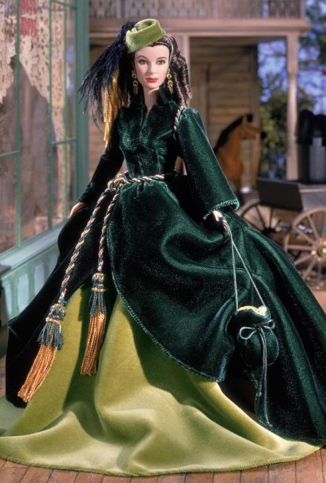 Scarlett O'Hara Doll On Peachtree Street — The Drapery Dress