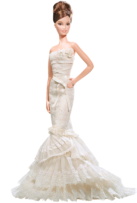 Vera Wang Bride The Romanticist Barbie Doll