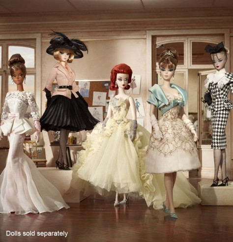 2012 Silkstones Barbie Dolls