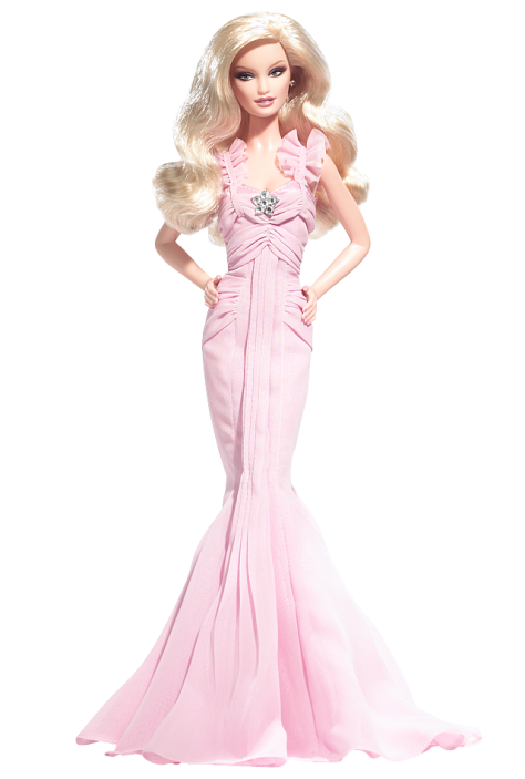 Pink Hope Barbie Doll