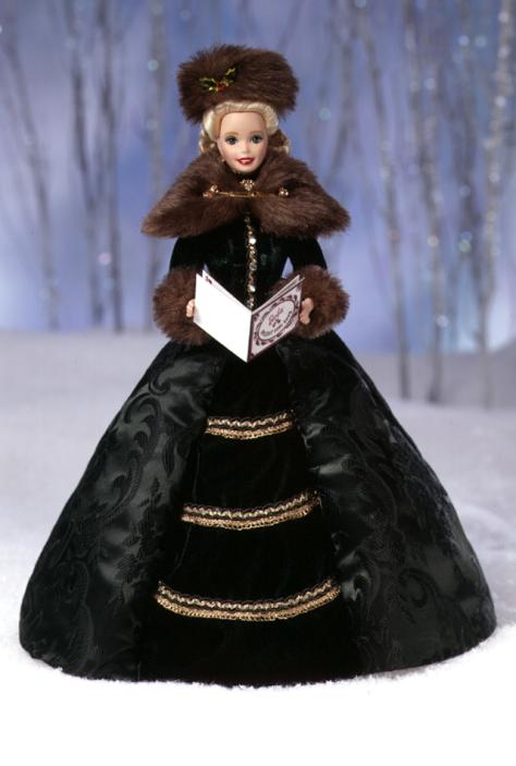 Holiday Caroler Barbie Doll