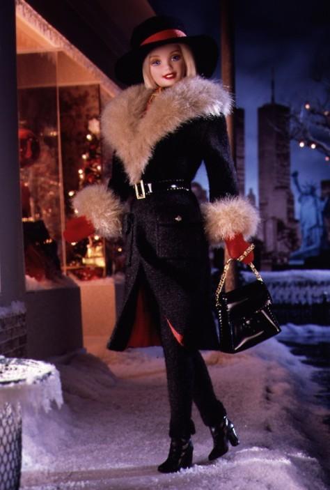 Winter in New York Barbie Doll