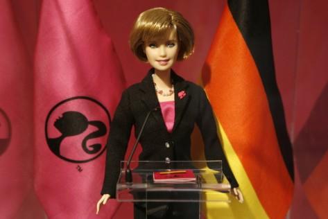 Spielwarenmesse - Angela-Merkel-Barbie
