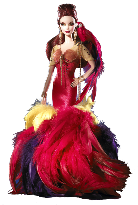 The Scarlet Macaw Barbie Doll