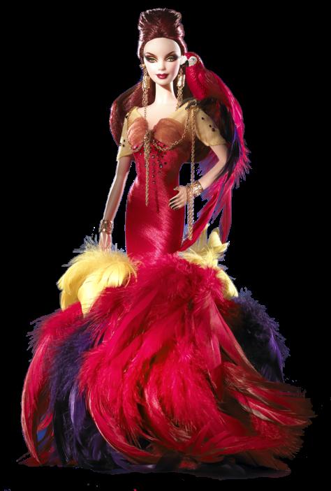 The Scarlet Macaw Barbie Doll