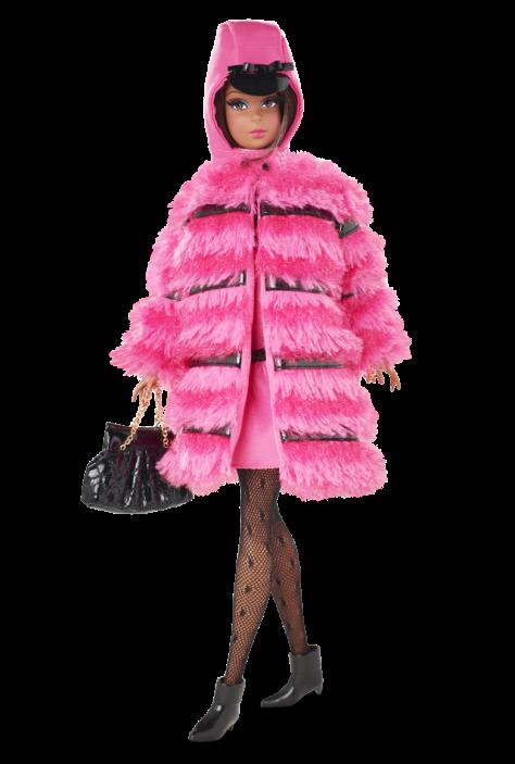 Fuchsia 'N Fur™ Francie® Doll