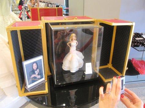 Vera Wang Barbie Doll (OOAK)