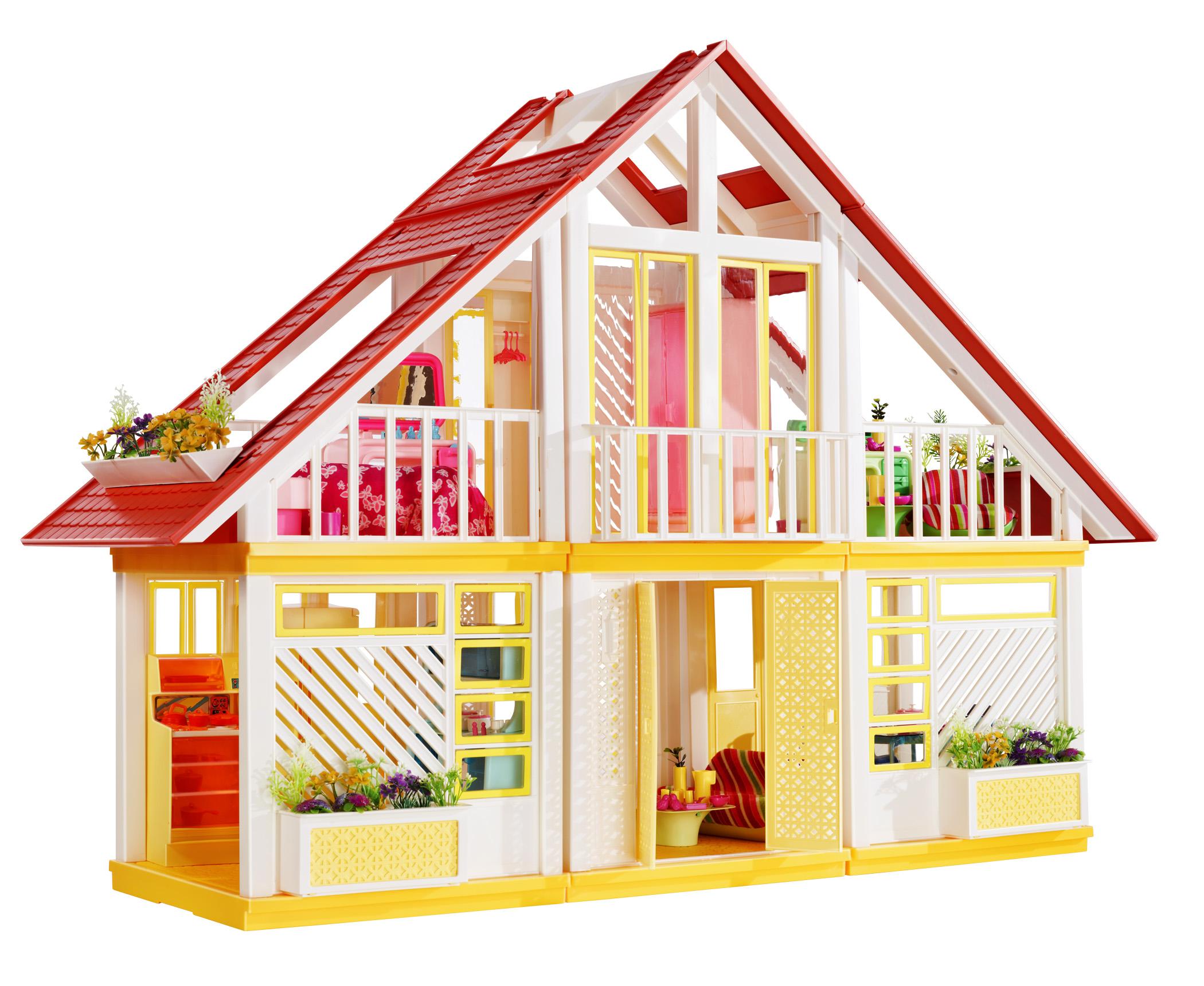 Barbie se muda de casa una vitrina llena de tesoros for Classic house 80s