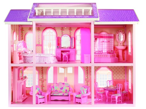 1990 Barbie Magical Mansion