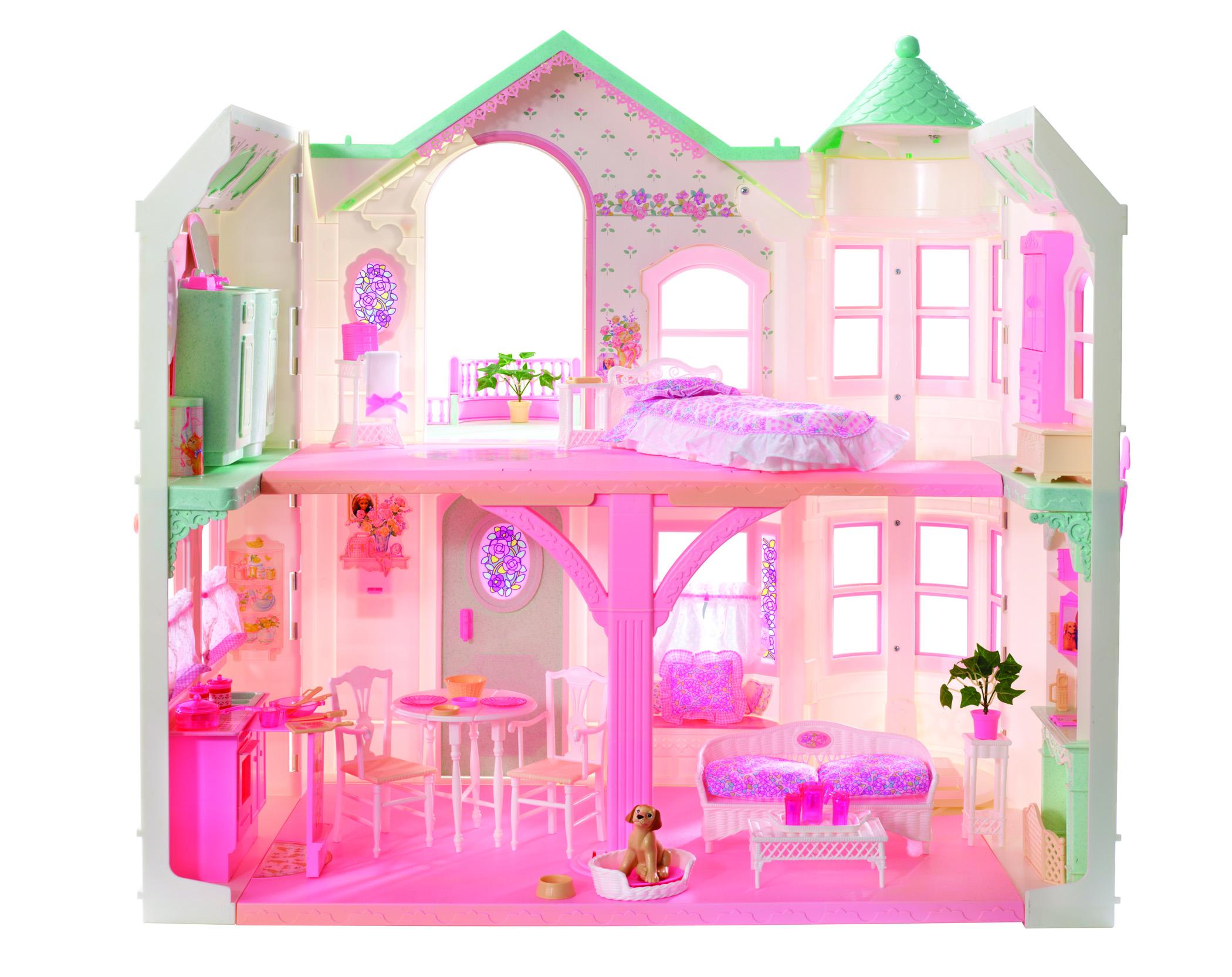 Barbie se muda de casa una vitrina llena de tesoros for Dream house com