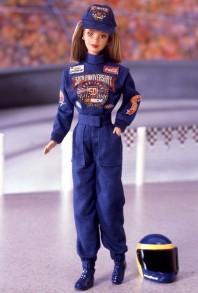 50th Anniversary NASCAR Barbie Doll