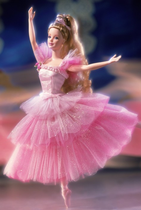 Barbie Doll as Flower Ballerina from the Nutcracker