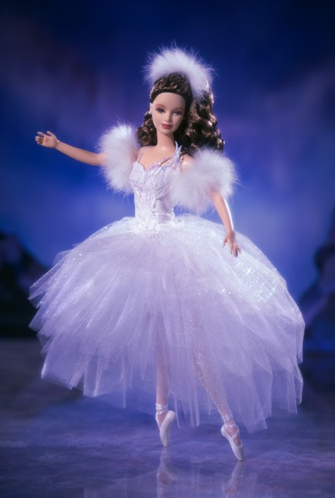 Barbie Doll as Swan Ballerina from Swan Lake