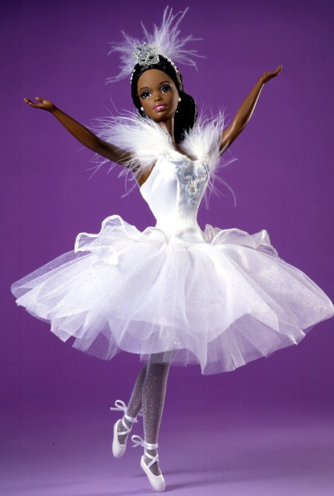 Barbie Doll as the Swan Queen in Swan Lake (African-American)