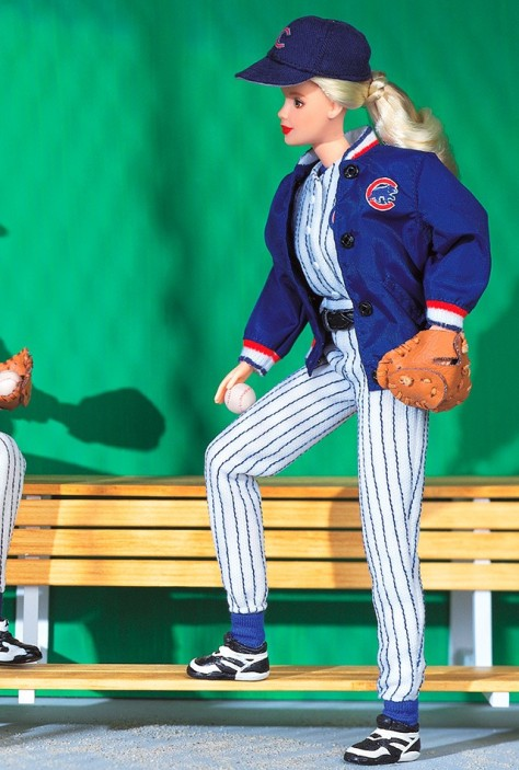 Chicago Cubs Barbie Doll