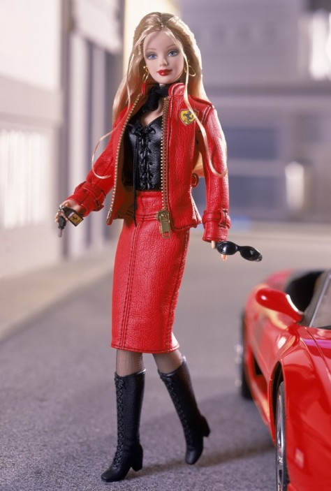 Ferrari Barbie Doll #2