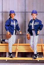 New York Yankees Barbie Dolls