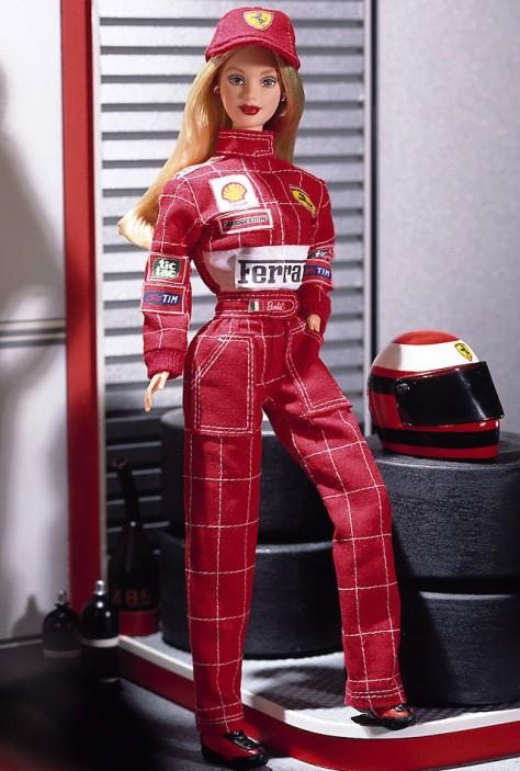 Scuderia Ferrari Barbie Doll