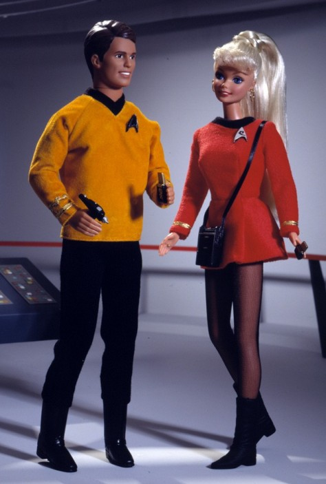 Barbie and Ken 30th Anniversary Star Trek Giftset