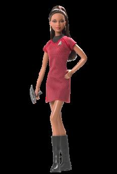 Barbie Doll as Lt. Uhura