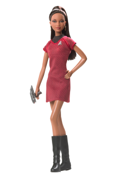 Barbie Doll as Lt. Uhura