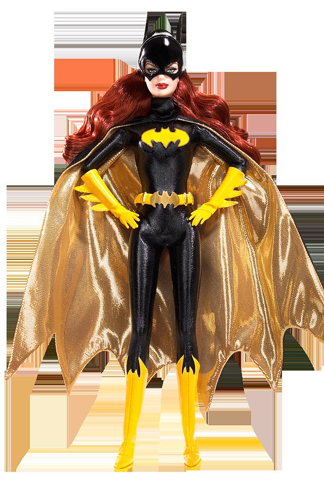 Batgirl Barbie Doll