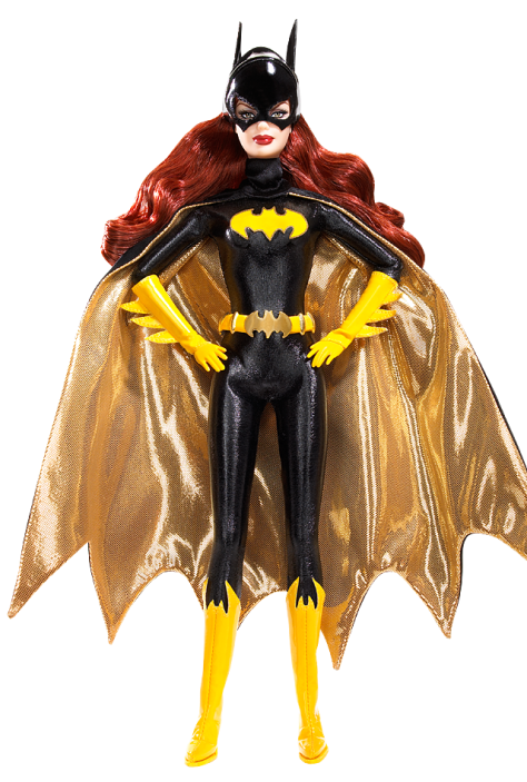 Batgirl Barbie Doll