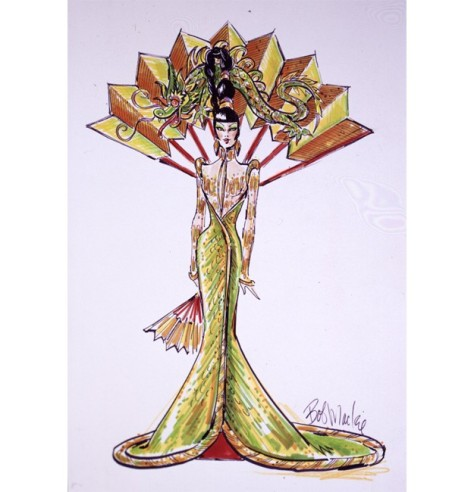 Bob Mackie Fantasy Goddess of Asia Barbie Doll