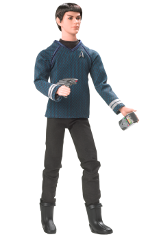 Ken doll as Mr. Spock