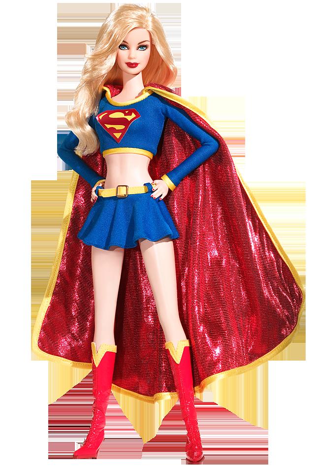 Supergirl Barbie Doll