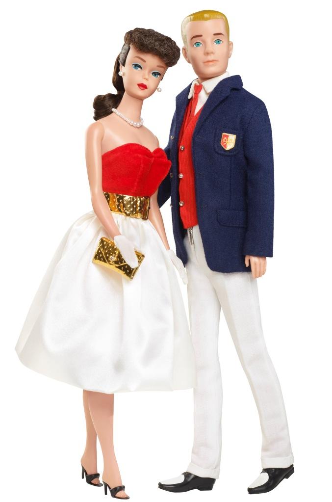 1962 Barbie & Ken
